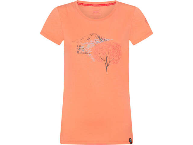 La Sportiva Bloom T-Shirt Femme, flamingo